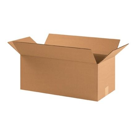 "Corrugated Boxes, 22 x 10 x 9"", Kraft"
