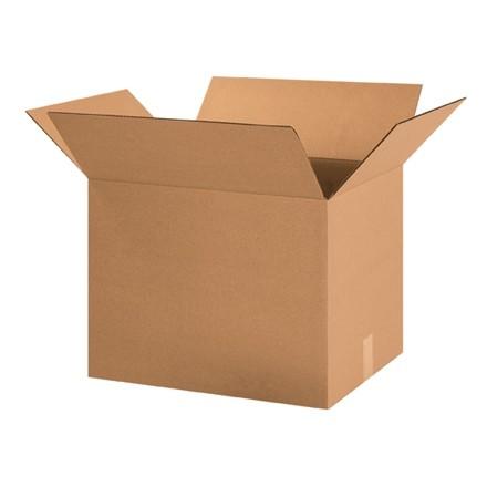 "Corrugated Boxes, 21 x 15 x 15"", Kraft"