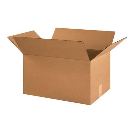 "Corrugated Boxes, 21 x 14 x 10"", Kraft"