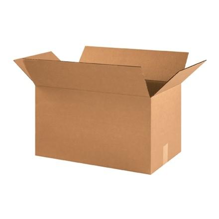 "Corrugated Boxes, 21 x 12 x 12"", Kraft"