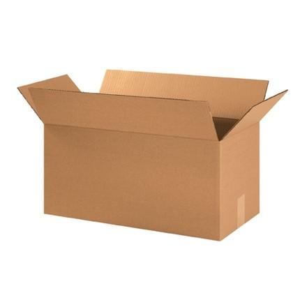 "Corrugated Boxes, 21 x 10 x 10"", Kraft"