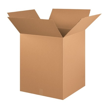 "Corrugated Boxes, 20 x 20 x 25"", Kraft"