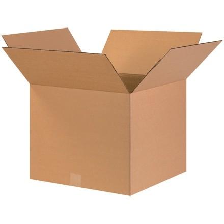 "Corrugated Boxes, 17 x 17 x 14"", Kraft"
