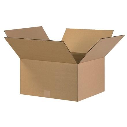 "Corrugated Boxes, 17 x 13 x 7"", Kraft"