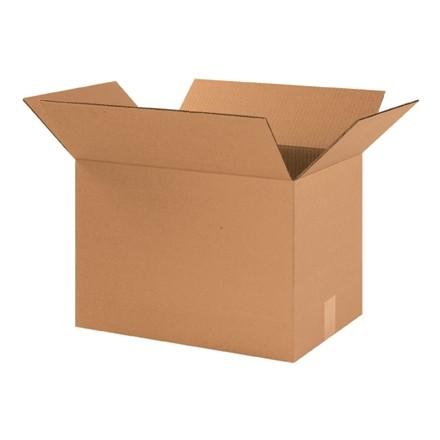 "Corrugated Boxes, 17 x 12 x 12"", Kraft"