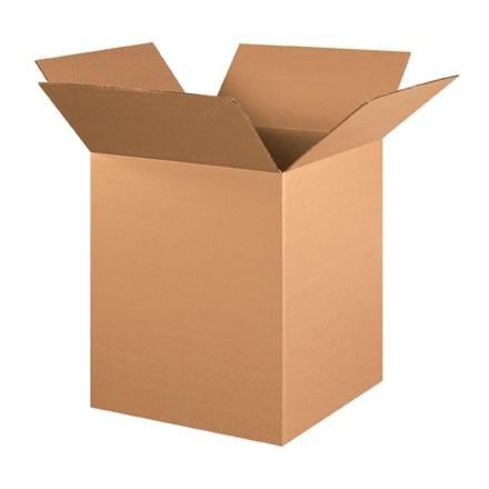 "Corrugated Boxes, 16 x 16 x 20"", Kraft"