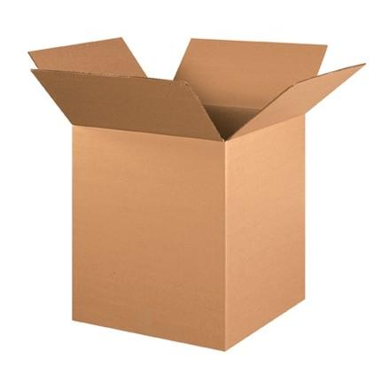"Corrugated Boxes, 16 x 16 x 19"", Kraft"