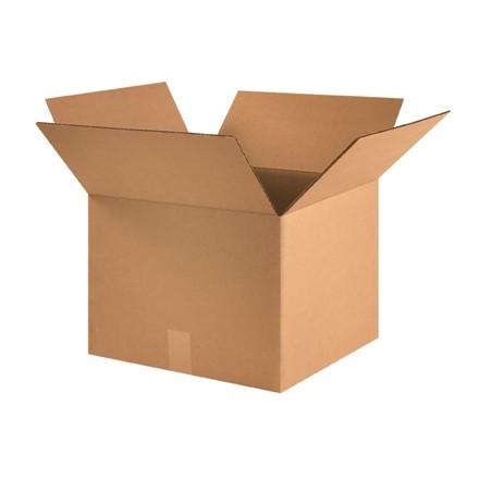 "Corrugated Boxes, 16 x 16 x 12"", Kraft"