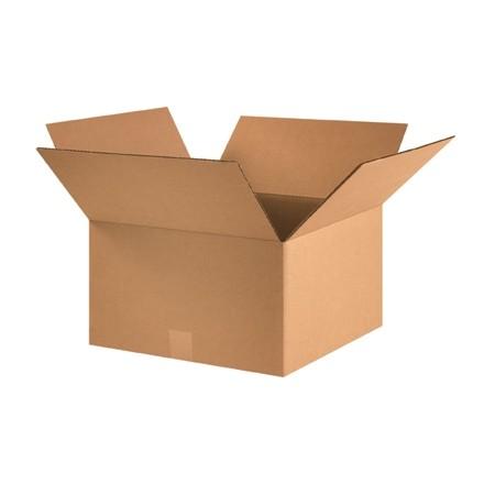 "Corrugated Boxes, 16 x 16 x 9"", Kraft"