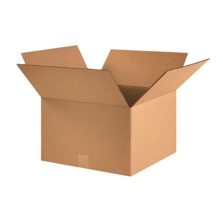 "Corrugated Boxes, 16 x 16 x 10"", Kraft"