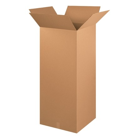 "Corrugated Boxes, 20 x 20 x 48"", Kraft"