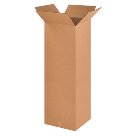 "Corrugated Boxes, 16 x 16 x 48"", Kraft"