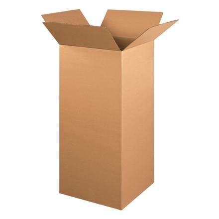 "Corrugated Boxes, 16 x 16 x 36"", Kraft"