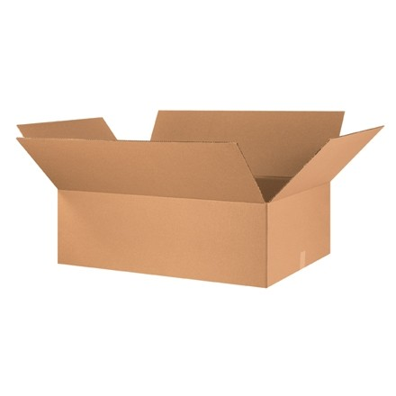 "Corrugated Boxes, 36 x 24 x 10"", Kraft"