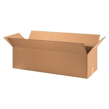 "Corrugated Boxes, 36 x 12 x 10"", Kraft"