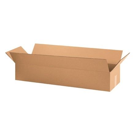 "Corrugated Boxes, 34 x 10 x 6"", Kraft"