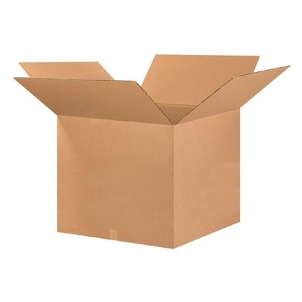 "Corrugated Boxes, 26 x 26 x 20"", Kraft"