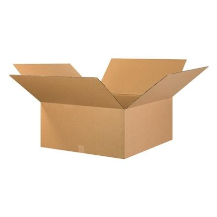 "Corrugated Boxes, 26 x 26 x 14"", Kraft"