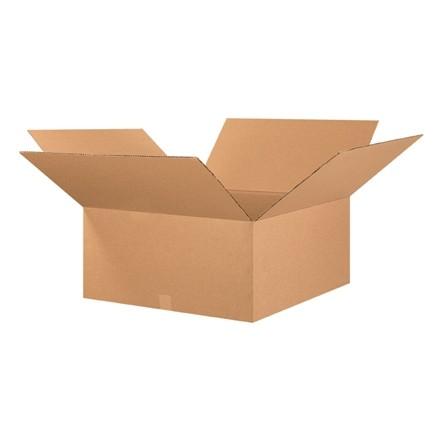 "Corrugated Boxes, 26 x 26 x 12"", Kraft"