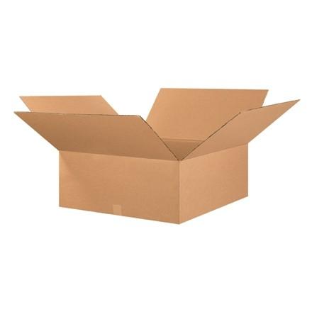"Corrugated Boxes, 26 x 26 x 10"", Kraft"