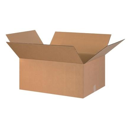 "Corrugated Boxes, 26 x 22 x 12"", Kraft"