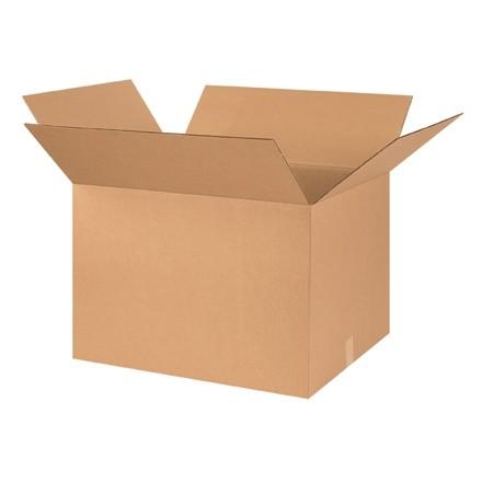 "Corrugated Boxes, 26 x 20 x 18"", Kraft"