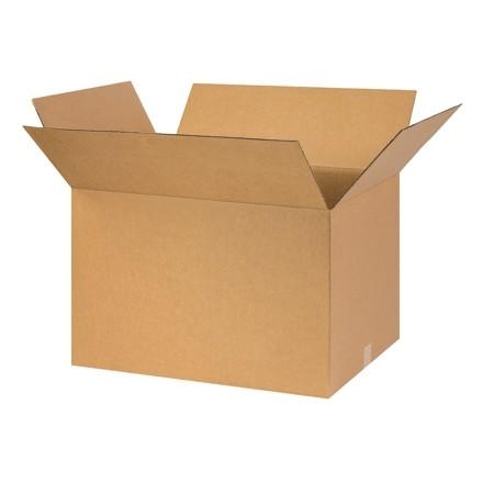 "Corrugated Boxes, 26 x 16 x 16"", Kraft"