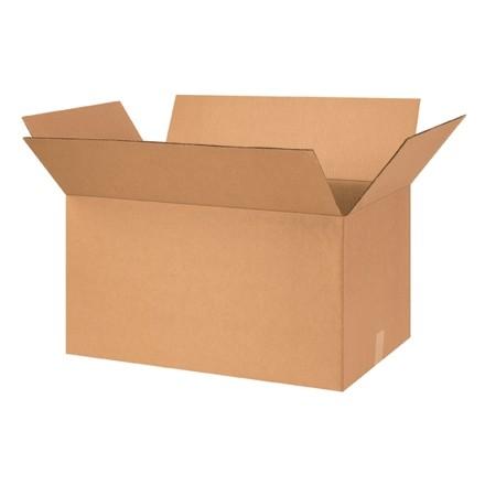 "Corrugated Boxes, 26 x 16 x 14"", Kraft"