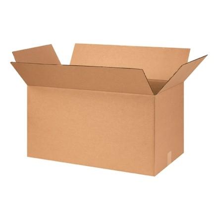 "Corrugated Boxes, 26 x 14 x 14"", Kraft"
