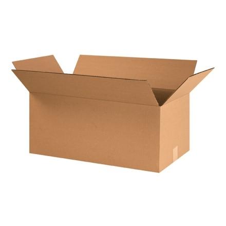 "Corrugated Boxes, 26 x 14 x 12"", Kraft"