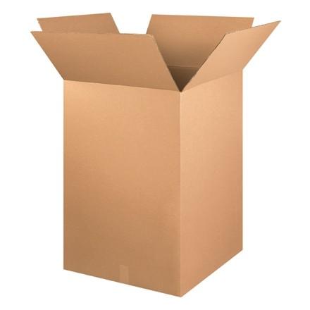 "Corrugated Boxes, 24 x 24 x 36"", Kraft"