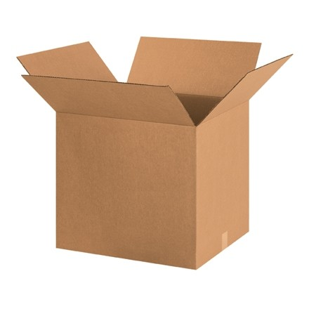 "Corrugated Boxes, 24 x 24 x 26"", Kraft"