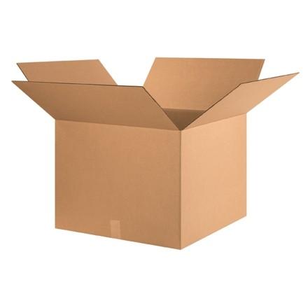 "Corrugated Boxes, 24 x 24 x 18"", Kraft"