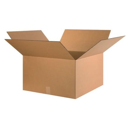 "Corrugated Boxes, 24 x 24 x 14"", Kraft"