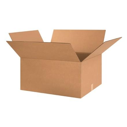 "Corrugated Boxes, 24 x 20 x 12"", Kraft"