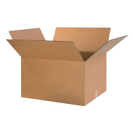 "Corrugated Boxes, 24 x 20 x 14"", Kraft"