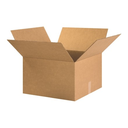 "Corrugated Boxes, 20 x 20 x 11"", Kraft"