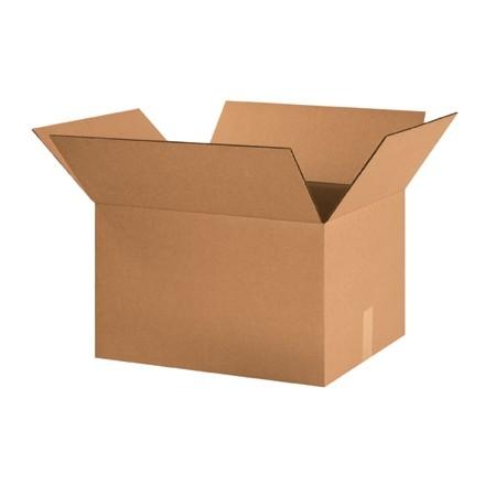 "Corrugated Boxes, 20 x 16 x 12"", Kraft"