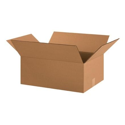 "Corrugated Boxes, 20 x 14 x 8"", Kraft"