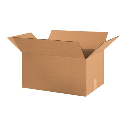 "Corrugated Boxes, 20 x 13 x 10"", Kraft"
