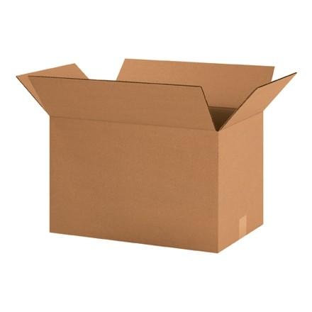 "Corrugated Boxes, 20 x 12 x 12"", Kraft"