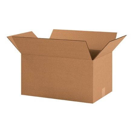 "Corrugated Boxes, 20 x 12 x 10"", Kraft"