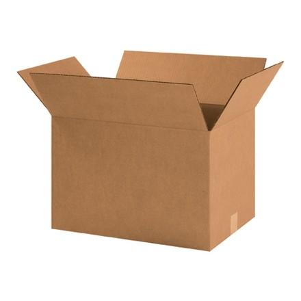 "Corrugated Boxes, 18 1/2 x 12 1/2 x 12"", Kraft"