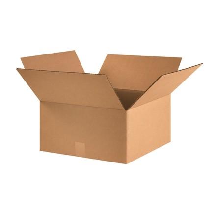 "Corrugated Boxes, 16 x 16 x 8"", Kraft"