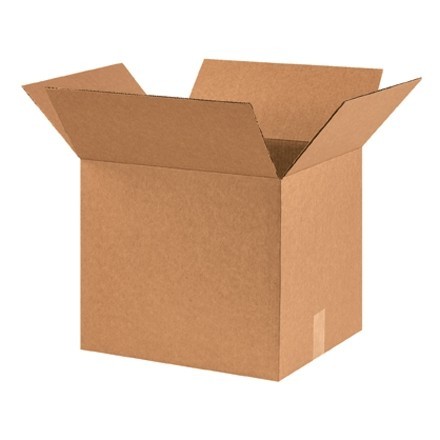"Corrugated Boxes, 16 x 14 x 14"", Kraft"