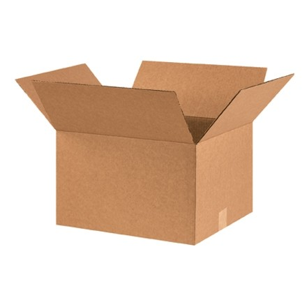 "Corrugated Boxes, 16 x 14 x 10"", Kraft"