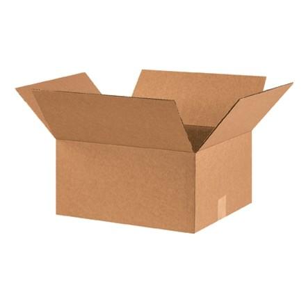 "Corrugated Boxes, 16 x 14 x 8"", Kraft"
