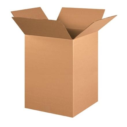 "Corrugated Boxes, 15 x 15 x 24"", Kraft"