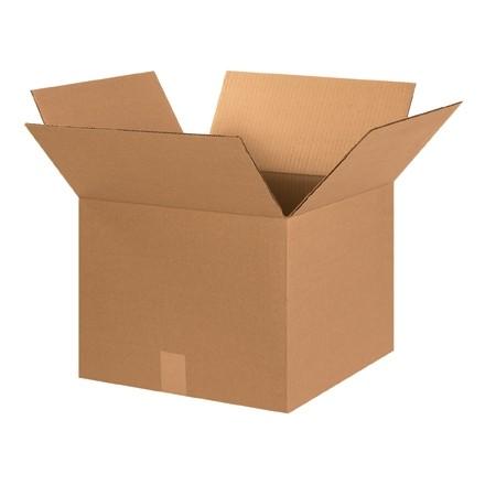 "Corrugated Boxes, 15 x 15 x 12"", Kraft"