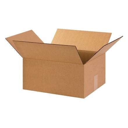 "Corrugated Boxes, 15 x 13 x 7"", Kraft"